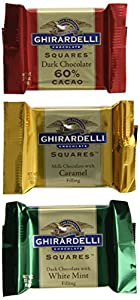 Ghirardelli Squares Assorted Medallion Chocolate Squares Gift Box, 7.35 oz.