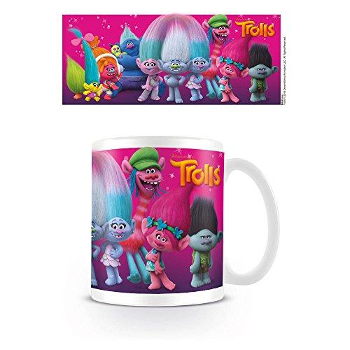Troll personaggi tazza di ceramica, multicolore