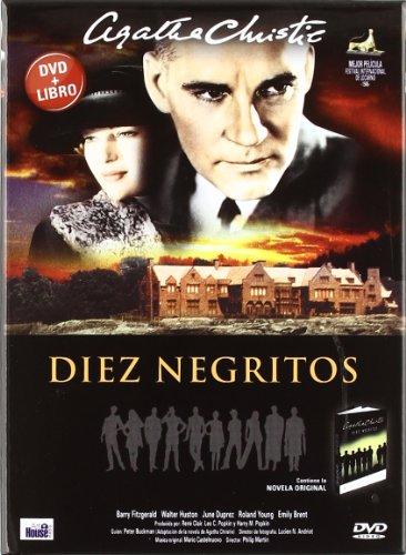 Pack Diez Negritos (Dvd+Libro)