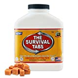 Survival Tabs 15-Day Prepper Food Replacement for editorial assistant Emergency Food Supply Gluten Free and Non-GMO - Butterscotch Flavor