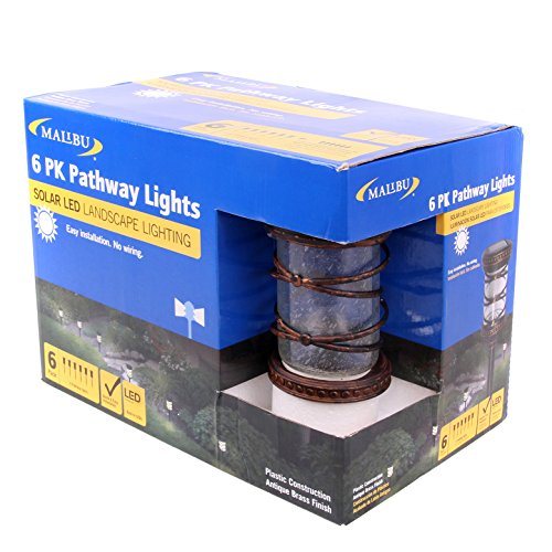 Malibu Ceorgetown Collection Low Voltage Led Tiki Torch: Malibu Waverly Collection Low Voltage LED Pathway Light