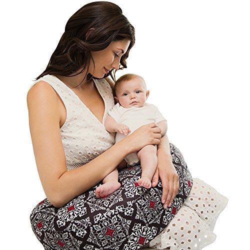 Bebe au Lait Premium Cotton Nursing Pillow, Amalfi