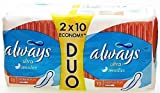 ALWAYS ULTRA SENSITIVE ECONOMY DUO PACK - 2 X 10 PADS