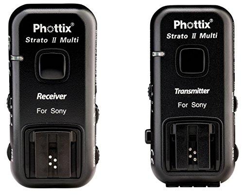 Phottix Strato II Multi 5 en 1 Déclencheur de flash pour Appareil Photo Sony Noir