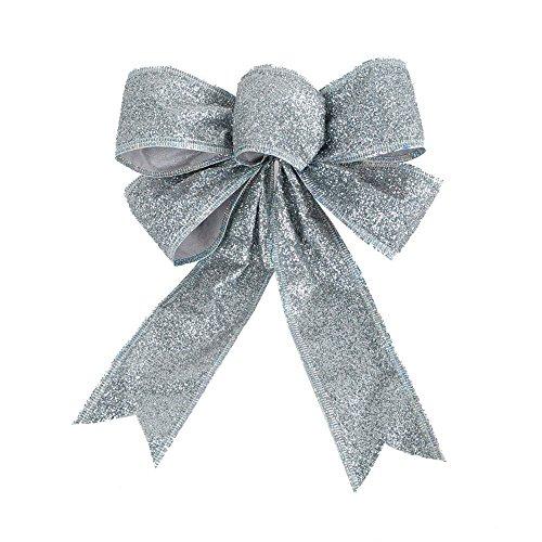 decorazioni-dellalbero-di-natale-bagattelle-lucide-bowknot-ornamenti-floccaggio-decorazione-bowknota