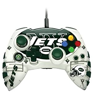 Amazon Com Xbox 360 Nfl New York Jets Controller Video Games