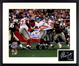 Eli Manning New York Giants 16x20 SUPER BOWL XLII Photograph (SGA Signature Series)... by Sports Gallery Authenticated