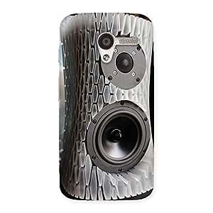 Impressive Aqua Speaker Back Case Cover for Moto X