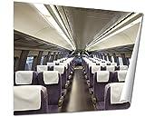 Ashley Giclee, Reserve Seats Of 500 Sanyo Shinkansen, 24x30 Print