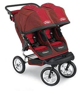 Amazon Com Baby Jogger City Elite Double Stroller Red
