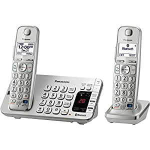 Panasonic KX-TGE272S Link2Cell Bluetooth Enabled Phone with