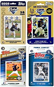 MLB Texas Rangers 4 Different Licensed Trading Card Team Sets by C&I Collectables