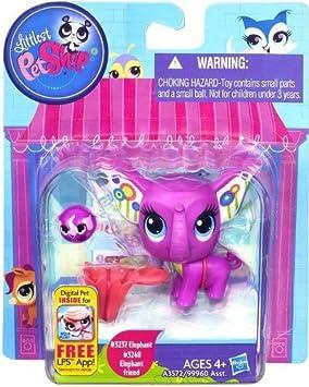 Littlest Pet Shop Figure 2-Pack Elephant & Elephant Friend by Hasbro