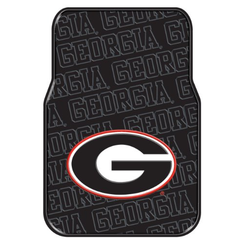 NCAA Georgia Bulldogs Front Floor Mat (Georgia Car Mats compare prices)