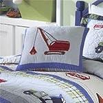 Trucks at Work Pillow