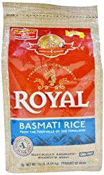Royal Basmati Rice in Plastic Bag, 10 Pound