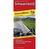 Motorradkarte Schwarzwald: Mit Ausflugszielen, Einkehr- & Freizeittipps und Tourenvorschlägen, wetterfest, reissfest, abwischbar, GPS-genau. 1:200000