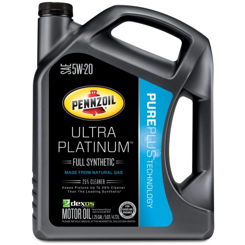 Pennzoil 550038330 ultra platinum 5w 20 full synthetic for Pennzoil full synthetic motor oil