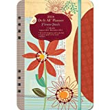 Orange Circle Studio 2014 Do It All 17-Month Planner, Flower Patch (31514)
