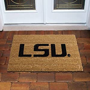 NCAA LSU Tigers 16'' x 28'' Coir Floor Mat