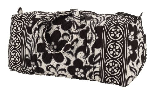 Vera Bradley Small Duffel in Night and Day