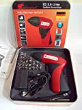 CD 3.6 Li Ion Cordless Screwdriver Kit
