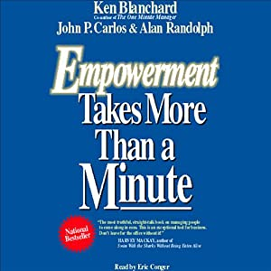 Empowerment Takes More than a Minute Audiobook