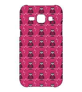 EPICCASE Pink Owls Mobile Back Case Cover For Samsung J1 Ace (Designer Case)