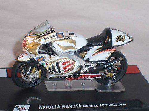 Aprilia RSv250 RSv 250 Manuel Poggiali 2004 Motogp 1/24 Altaya By ixo Modellmotorrad Modell Motorrad SondeRangebot