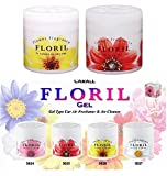 CARALL FLORIL FLOWER White Musk and Sexy Rich Fragrance Japanese Car Air Freshner (For - Nissan Micra Active)