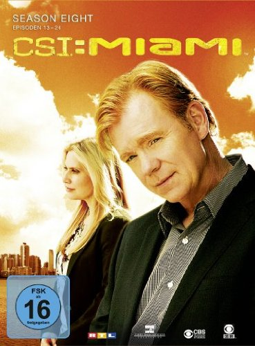 CSI: Miami - Season 8.2 [3 DVDs]