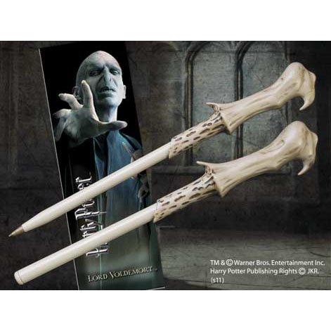 ハリーポッター 魔法の杖型ボールペン&しおり(ヴォルデモート)