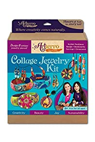 Artterro Made in USA Collage Jewelry Kit