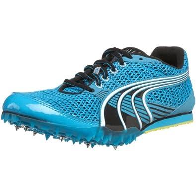 PUMA Women's Complete TFX Sprint 3 Track Spike,Fluorescent Blue/Black/White,6 B US