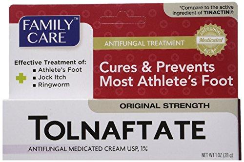 2 Pack Tolnaftate Cream USP 1% Antifungal Athlete's Foot Compare to Tinactin-1 OZ (Cream For Foot compare prices)