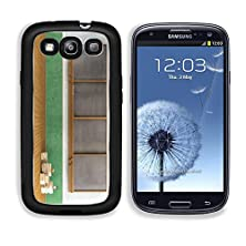 buy Msd Samsung Galaxy S3 Aluminum Plate Bumper Snap Case Empty Vintage Classroom With Big Blackboard And Stacks Of Books Rendering Image 20308592