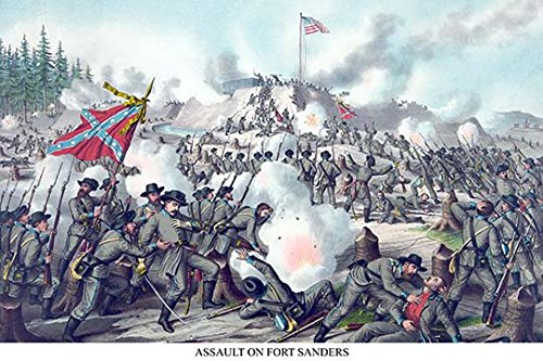 Battle of Ft. Sanders at Knoxville, Tennessee