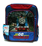 THOMAS THE TANK ENGINE, THOMAS AND FRIENDS (TOM73006) Backpack, Rucksack, Luggage, Satchel, School Bags - gift for kids, children, girls, boys, son, daughter, student, niece, nephew, travel, sports, birthday, halloween, christmas, camping