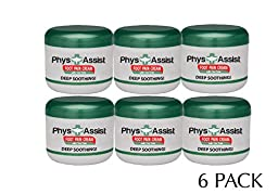 PhysAssist Foot Pain Cream- 6 pack