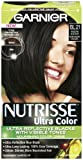 Garnier Nutrisse Permanent Haircolor, Bl 21 Reflective Blue Black