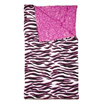Three Cheers for Girls Wild Thing Reversible Blanket/Sleeping Bag