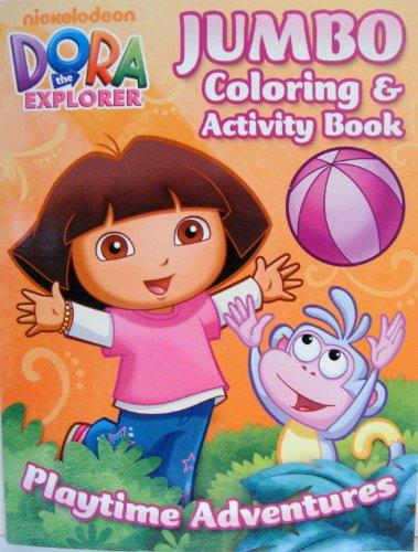 DORA the EXPLORER COLORING & ACTIVITY BOOK (d) - 1