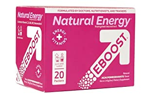 Eboost Acai Pomegranate Flavor Packets, 20 count, 5 Ounces