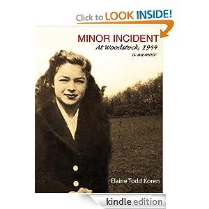 Minor Incident Elaine Todd Koren