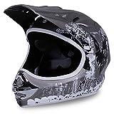 Motorradhelm X-treme Kinder Cross Helme Sturzhelm Schutzhelm Helm für Motorrad