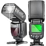 Neewer® NW-561 スピードライト 液晶ディスプレイ付き  Canon & Nikon一眼レフカメラ 及び他の標準ホットシューに対応する一眼レフカメラに対応 対応機種: Canon/キヤノン EOS Kiss X3 , EOS Kiss X4 , EOS Kiss X5 , EOS Kiss X6i , EOS Kiss X7i , EOS Kiss X7 , EOS Kiss X50, 6D, 1Ds Mark III, 1Ds Mark II, 5D Mark III, 5D Mark II, 1D Mark IV, 1D Mark III Nikon D7200 D7100 D7000 D5200 D5100 D5000 D3000 D3100 D300 D300S D700 D600