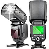Neewer-NW-561-LCD-Display-Speedlite-Flash-for-Canon-Nikon-DSLR-CamerasSuch-as-Canon-EOS-1100D-550D5D-Mark-II-III-and-Nikon-D7200-D7100-D7000-and-Other-DSLR-Cameras-with-Standard-Hot-Shoe