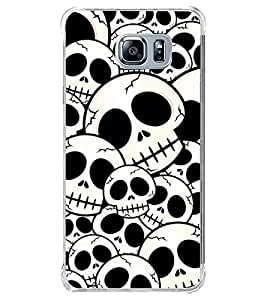 ifasho Modern Design skeleton Pattern Back Case Cover for Samsung Galaxy Note 5