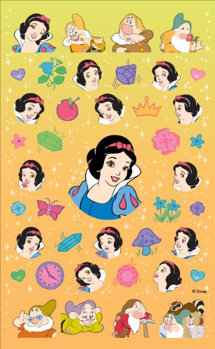 Disney Snow White and the Seven Dwarves Scrapbook Stickers (PDCL48)
