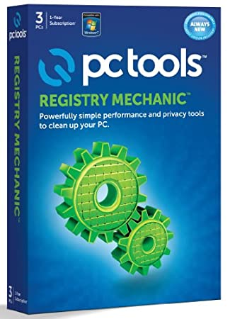 PC Tools Registry Mechanic 2012 - 3 Computers, 1 Year Subscription (PC)